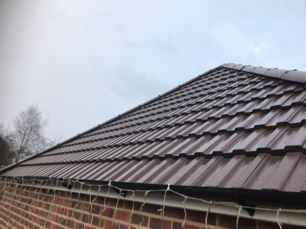 Flat Roof And New Tiled Roof In Smethwick Birmingham