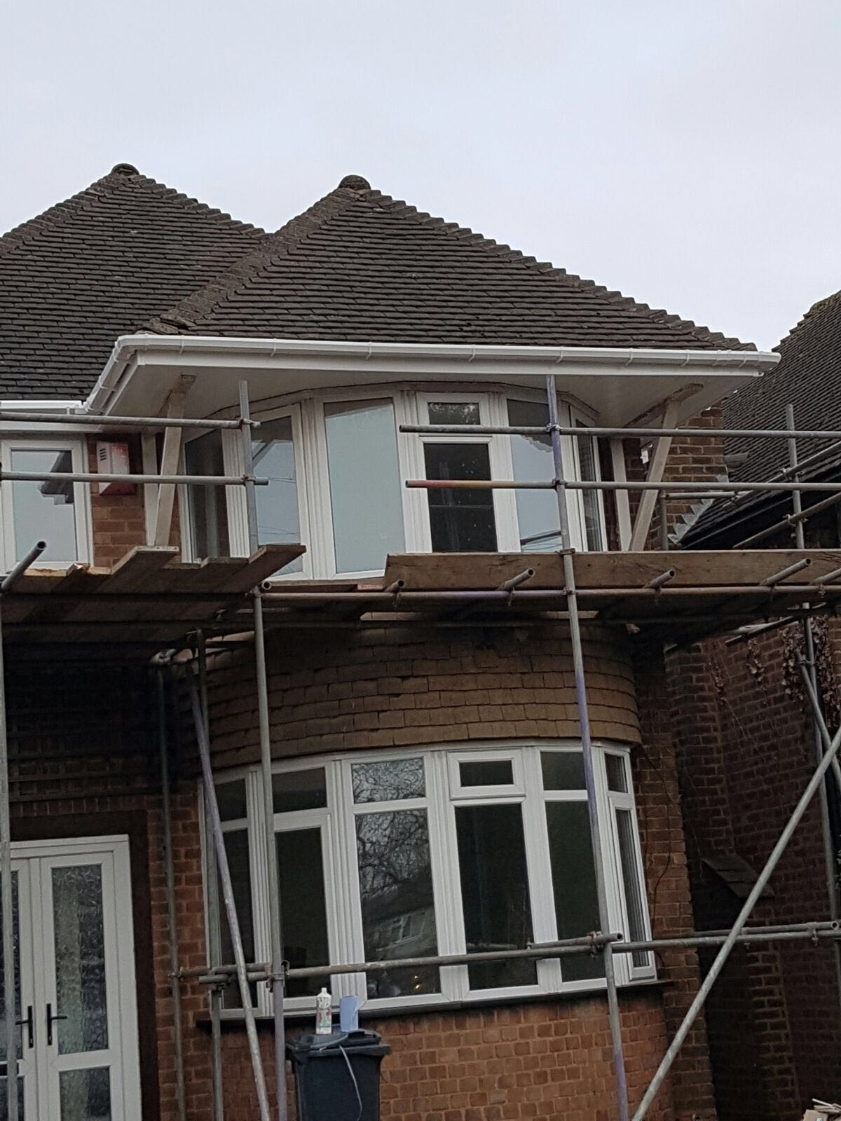 Flat Roof Warehouse : Upvc fascia board soffits gutter and downpipe