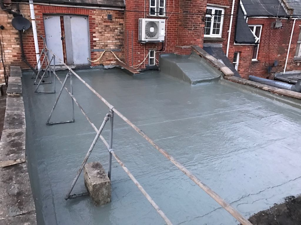 Flat Roof Replacement For Carphone Warehouse Boscombe