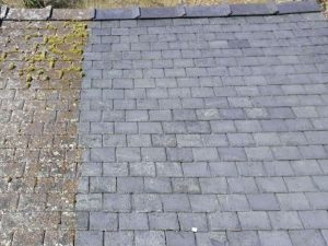 Slate Roof Valeting