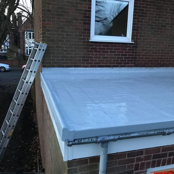 Elastothane Roof in Moseley